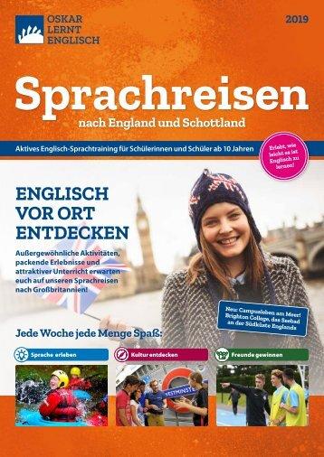 Sprachreisen 2019   Oskar lernt Englisch