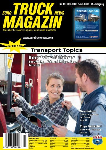 Euro Truck News Digital Nr. 13/2018