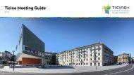 Ticino Meeting Guide 2018