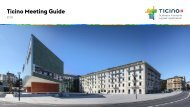 Ticino Meeting Guide 2018