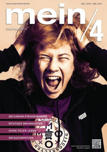 mein/4 Stadtmagazin Berlin November 2018