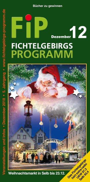 Fichtelgebirgs-Programm - Dezember 2018