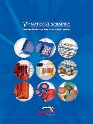 National Scientific 2008-9 Catalogue