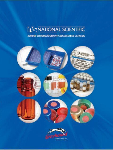 National Scientific 2008-9 Catalogue