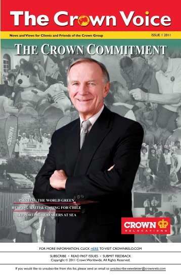 THE CROWN COMMITMENT - Crown Relocations