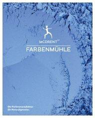 Imagebroschüre der Farbenmühle mcdrent