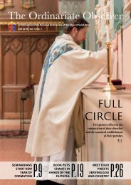 The Ordinariate Observer - Fall 2018