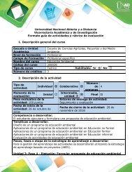 Guía de actividades y rúbrica de evaluación - Paso 4 - Ejecución
