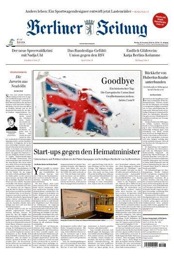 Berliner Zeitung 26.11.2018