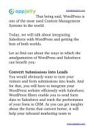 Advantages of Integrating WordPress & Salesforce You Must Know About!  - Page 2