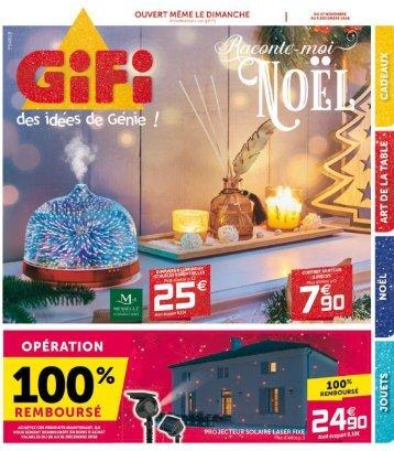 Gifi catalogue 27 nov-5 déc 2018