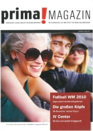 prima! Magazin - Ausgabe Juni 2010