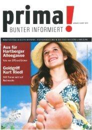 prima! Magazin - Ausgabe August 2010