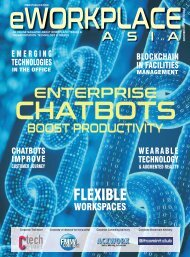 eWorkplace Asia - November Launch Issue 2018
