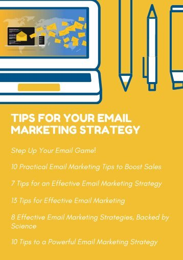 Tips for Your Email Marketing Strategy