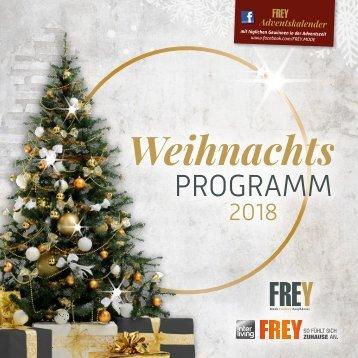 Weihnachtsprogramm Cham 2018