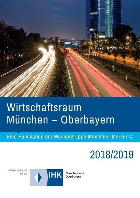Wirtschaftsraum München – Oberbayern 2018/2019