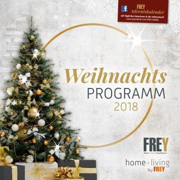 Weihnachtsprogramm Marktredwitz 2018