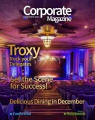 Corporate Magazine December 2018