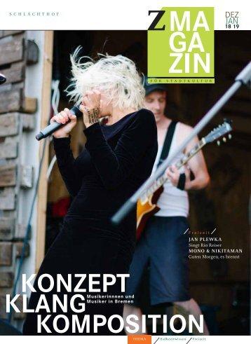 zett Magazin Dezember 18 / Januar 19
