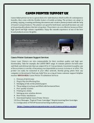 Canon Printer Helpline 0800 014 8024  Canon Printer Support