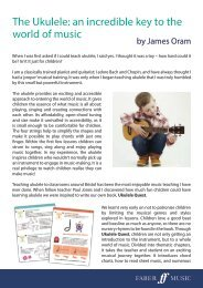 Ukulele Quest - An incredible key to the world of music
