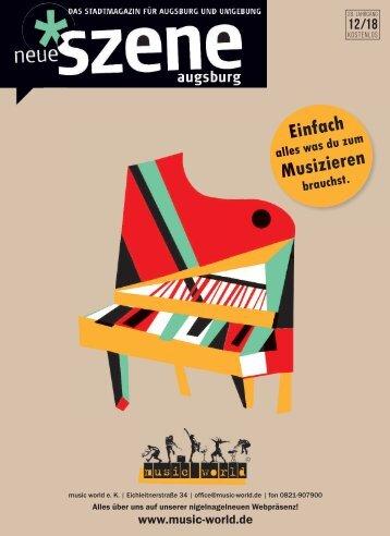 Neue Szene Augsburg 2018-12