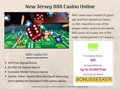 New Jersey 888 Casino Online