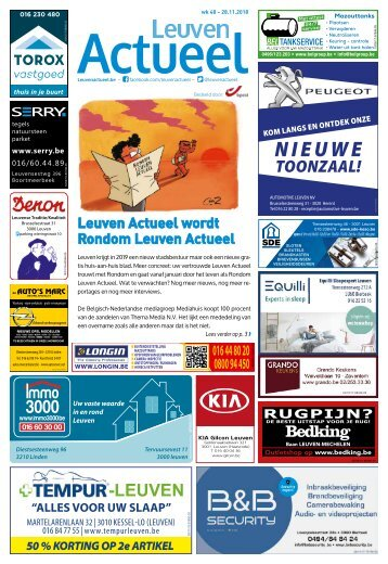 1848 Leuven Actueel - 28 november 2018 - week 48
