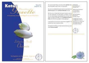 Chicorée-Lasagne - Metzgerei und Partyservice KATUS