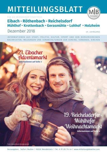 Nürnberg-Eibach/Reichelsdorf/Röthenbach - Dezember 2018