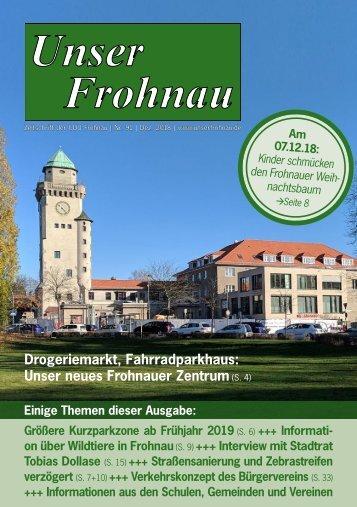 Unser Frohnau 91 (Dezember 2018)