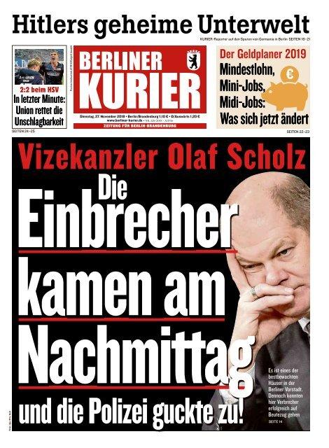 Berliner Kurier 27.11.2018