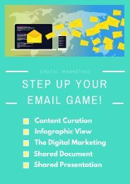 STEP UP YOUR EMAIL GAME!