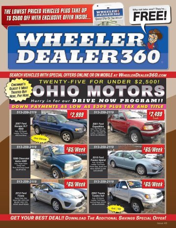 Wheeler Dealer 360 Issue 48, 2018