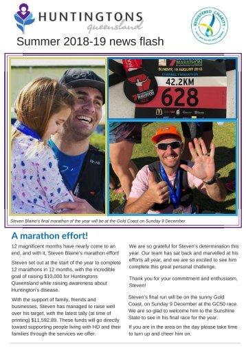 Huntingtons Queensland Summer 18-19 News Flash FINAL