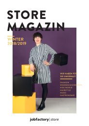 Store Magazin Winter 2018/2019