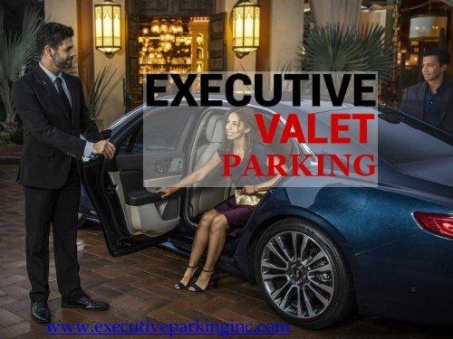 Best Valet Companies | Executive Valet Parking