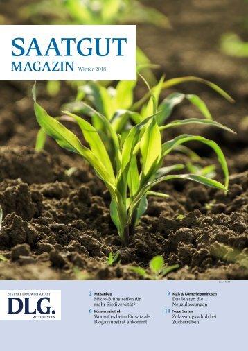 DLG Saatgut Magazin Winter 2018