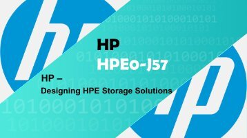 HPE0-J57 Exam Questions Answers |Braidumps4IT HPE0-J57|