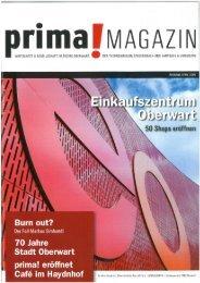 prima! Magazin - Ausgabe April 2009
