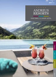 ANDREUS RESORTS brochure 2019