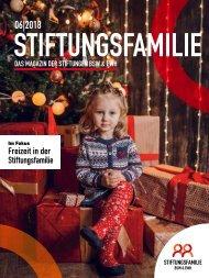 Stiftungsfamilie - Ausgabe 06/2018