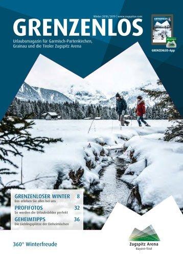 Gästemagazin Grenzenlos Winter 2018/2019