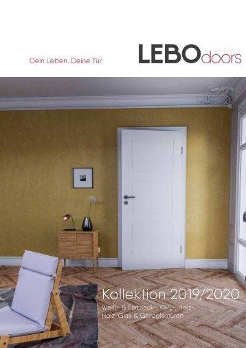 Die LEBO-Türenkollektion 2019