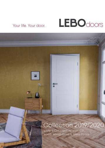 The LEBO-Doorcollection 2019-2020