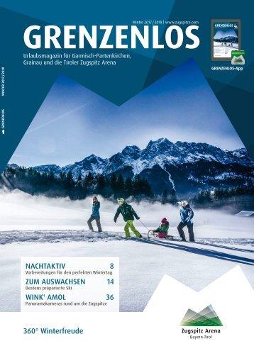 Gästemagazin Grenzenlos Winter 2017/2018