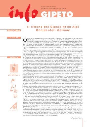 infoGIPETO n.29 | dicembre 2012