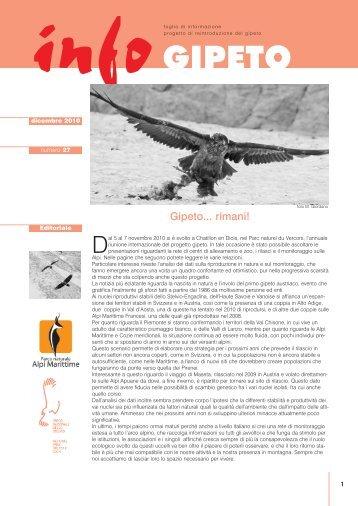 infoGIPETO n.27 | dicembre 2010