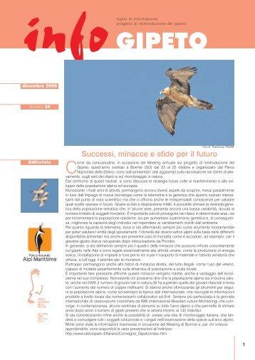infoGIPETO n.26 | dicembre 2009